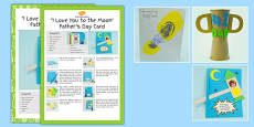 Father's Day Craft Activity Pack