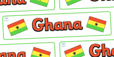 Ghana Display Banner