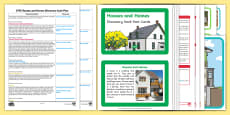 EYFS Houses and Homes Discovery Sack Plan and Resource Pack