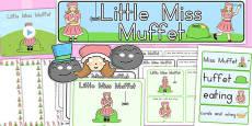 Australia - Little Miss Muffet Resource Pack