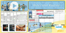 PlanIt - RE Year 2 - Rules and Routines Unit Pack