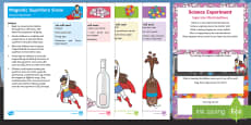 EYFS Superheroes Science Experiments Resource Pack