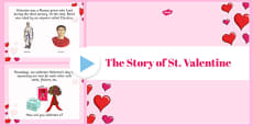 The Story of St Valentine PowerPoint