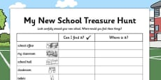 My New School Treasure Hunt