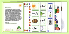 List Writing Activity Pack to Support Teaching on The Very Hungry Caterpillar