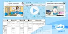 PlanIt Y3 Measurement Lesson Pack Mass (3)
