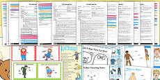 EYFS All About Me My Body Adult Input Planning and Resource Pack