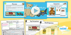 History: Toys: Early 20th Century Toys KS1 Lesson Pack 3