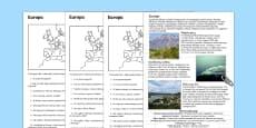 Czytanie ze zrozumieniem Pomniki przyrody w Europie