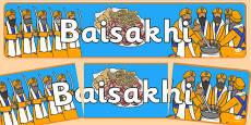 Baisakhi Display Banner