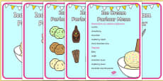 Ice Cream Parlour Display Posters