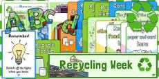 Recycle Week Display Pack