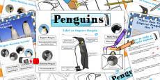 Penguin Lapbook Creation Pack