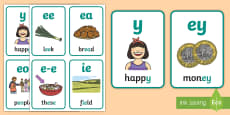 * NEW * My ee Sound Family Flashcards