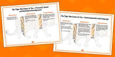 Tiger Tea Lesson Plan Ideas EYFS