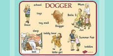 Word Mat to Support Teaching on Dogger