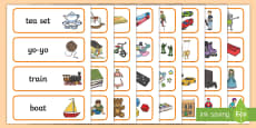 Toy Shop Word Cards
