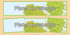 Place Knowledge Display Banner