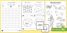 Alphabet Letter Activity Pack