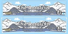 The Antarctic Display Banner