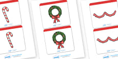 Matching Christmas Cards Activity