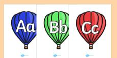 A-Z on Hot Air Balloons (plain)