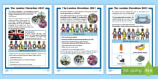 KS1 London Marathon Differentiated Fact File