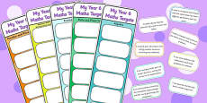 Year 6 Maths Assessment Bookmarks and Cut Outs
