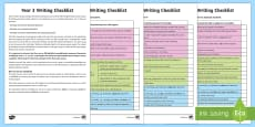 Year 3 Writing Checklist