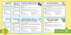 Tarjetas informativas: Ideas para la escritura argumentativa