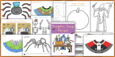 Halloween Activity and Craft Pack