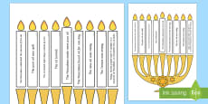 Light The Candle Hanukkah Puzzle