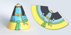 Diwali Cone Character Rama