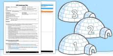 Marshmallow Igloos EYFS Adult Input Plan