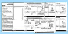 Mary Queen of Scots Front Page News Prompt Sheets and Writing Frames