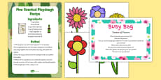 Garden of Flowers Busy Bag Prompt Card and Resource Pack