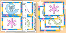 Finger Gym Pattern Card