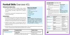 Football Skills Overview KS1