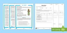 St. David Differentiated Reading Comprehension Activity