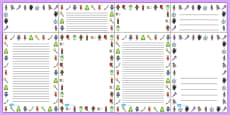 Fairy Tale Page Borders
