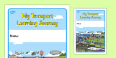 My Transport Learning Journey Book Cover