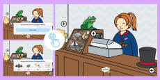 * NEW * Phase 1 Phonics Rhyming Picture Hotspots
