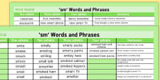 SM Word Mat