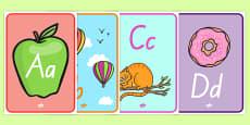 Alphabet Display Posters New Zealand