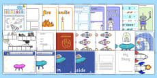 KS1 Space Lesson Plan Ideas and Resources Pack