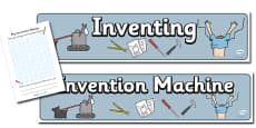Invention Role Play Pack