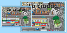 Cartel La ciudad