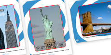 New York Role Play Tourist Attraction Posters