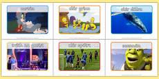 Television Programme Display Posters Gaeilge