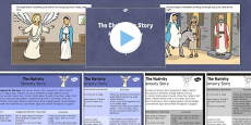 The Nativity Sensory Story Pack
